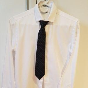 Calvin Klein white shirt size 16